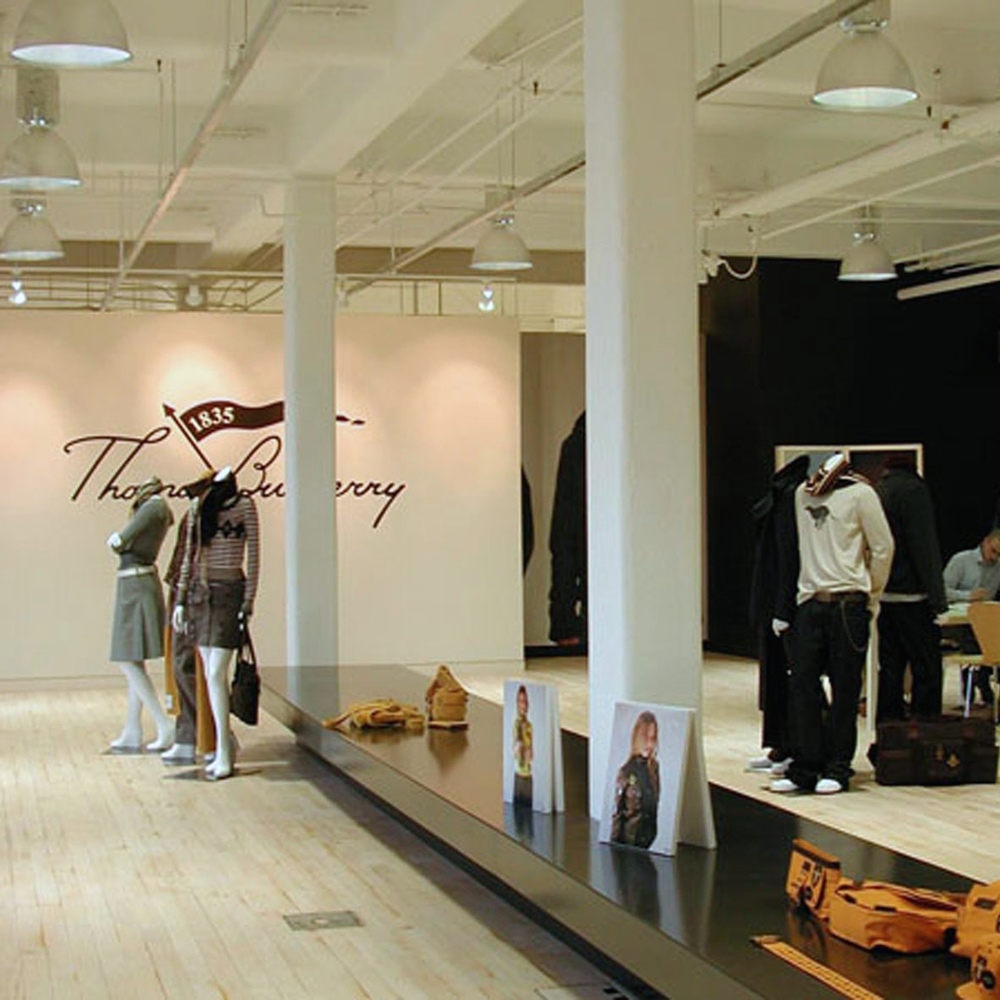 Thomas Burberry Showroom