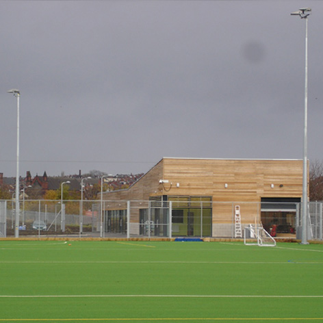 Thomas Danby Community Sport Centre, Leeds      for Hawkins Brown