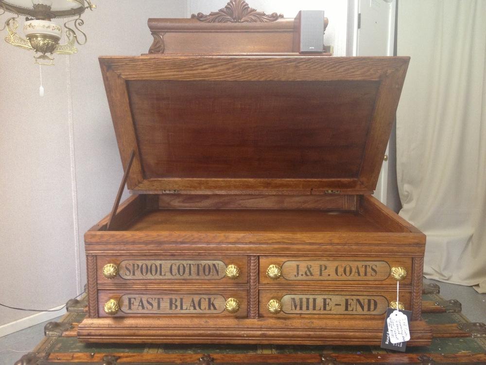 J P Coates Spool Cabinet