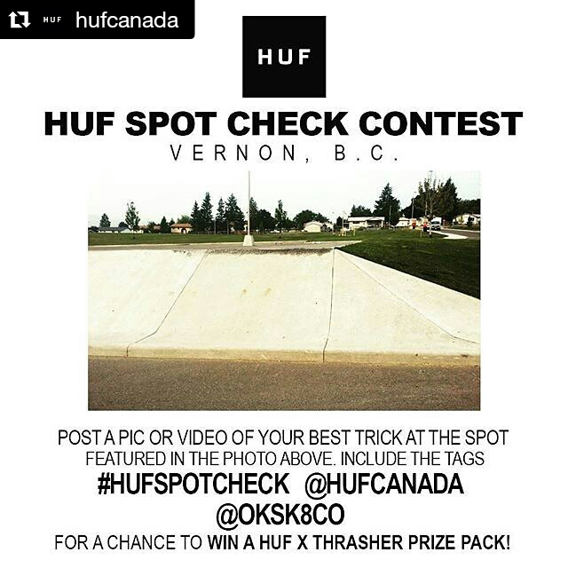 the huf spot check was a success! See instagram to view the winning clip and use the hash tag to check out all the entries!