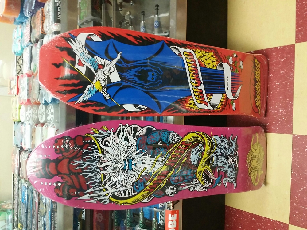 Jeff Grosso & Jason Jesse Santa Cruz Reissues