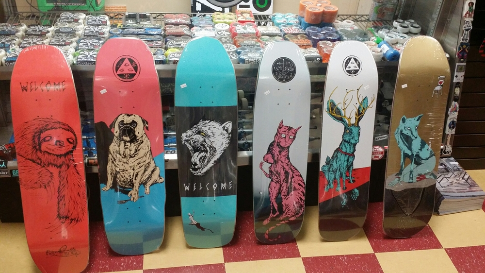 BLACK Friday Week Welcome Skateboards $59.99