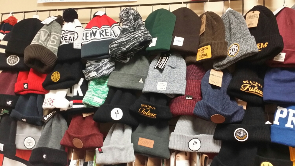 $5 off Beanies! Or Get one free when you Buy a Hoodie this week!