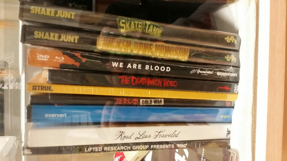 Skate DVDs buy 2 get a 3rd free