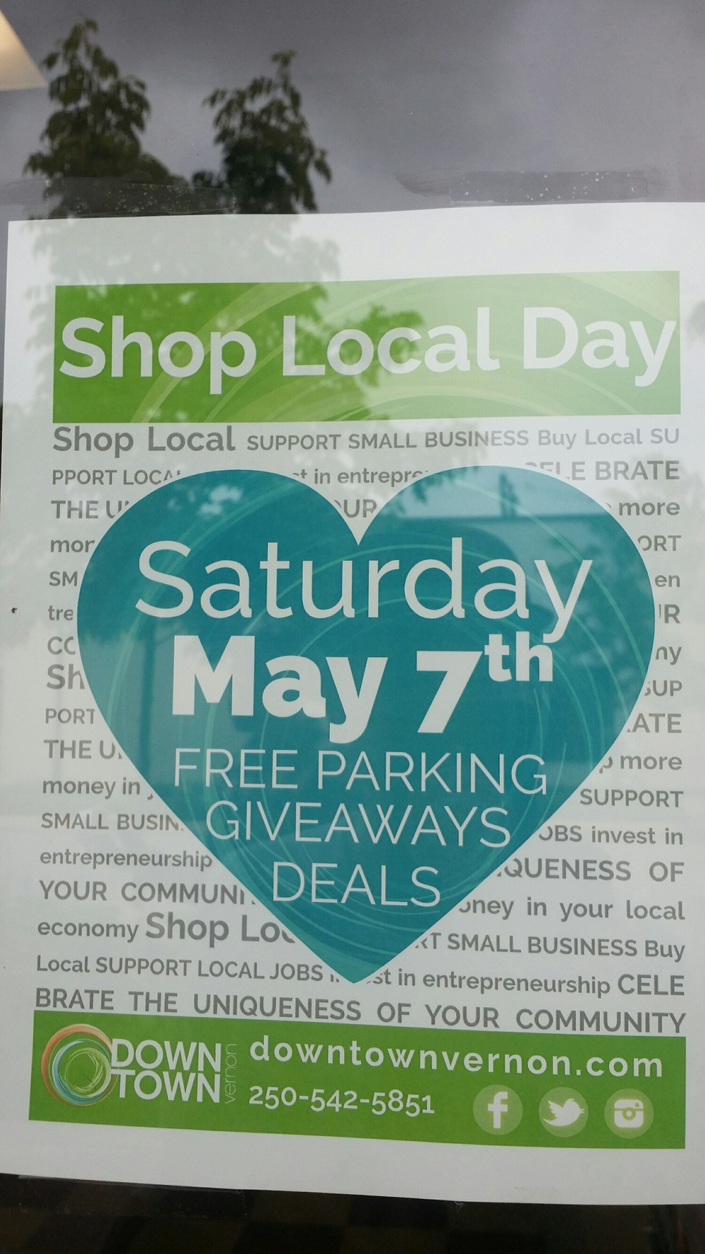 20% off all Apparel this Saturday for Shop Local Day!!! 😆 👍