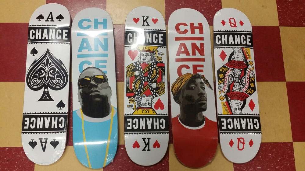 big and pac are back in new colors along with the new playing card series $69.99 gripped and ready to rip!