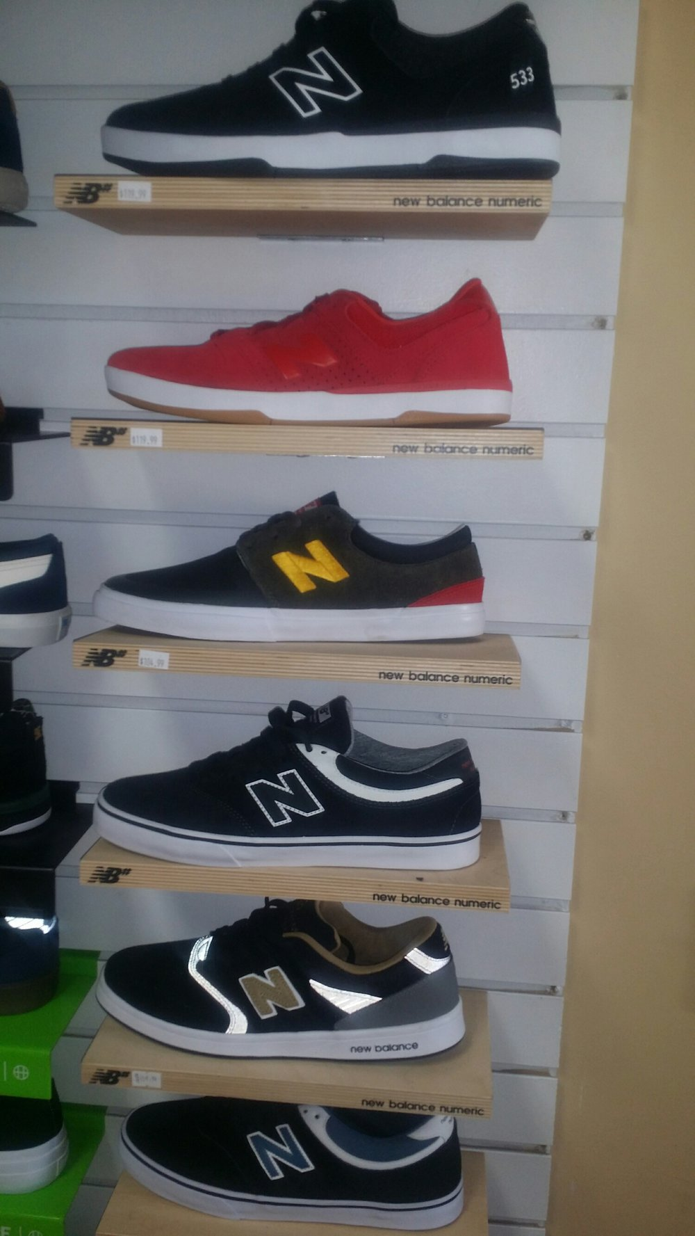 All New Balance Numeric $79.99 or less