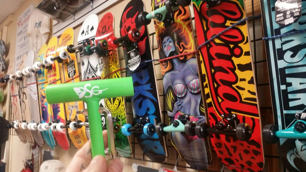 free tool with premade or custom complete skateboards  this month