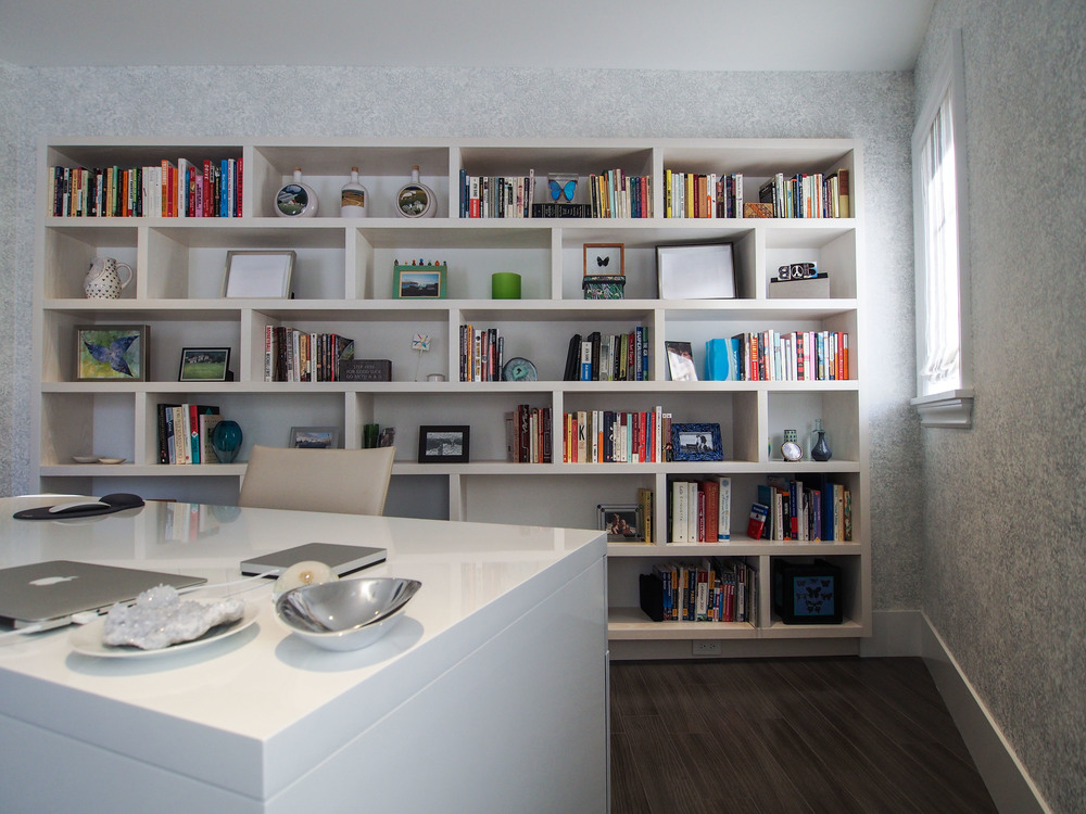 Whitewashed Bookshelf