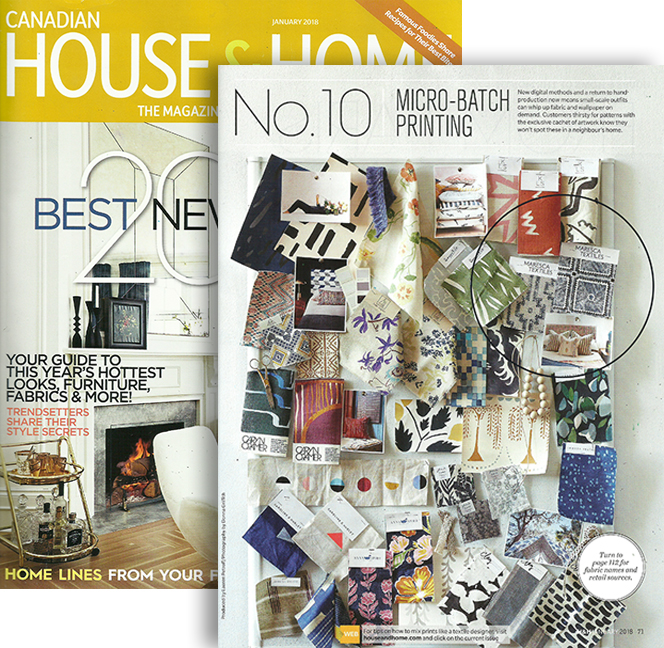 CANADIAN HOUSE & HOME  JANUARY 2018