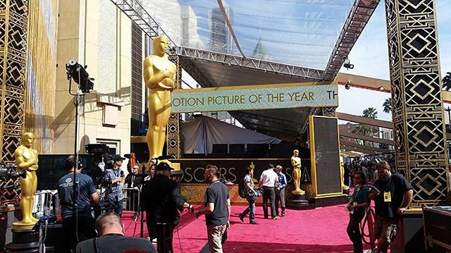 Perfect weather for a perfect occasion #oscars2016