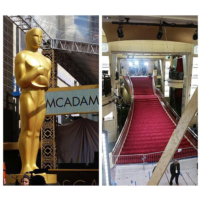 Wishing that next year, it is you walking up those stairs. #oscars2016 #actorslife