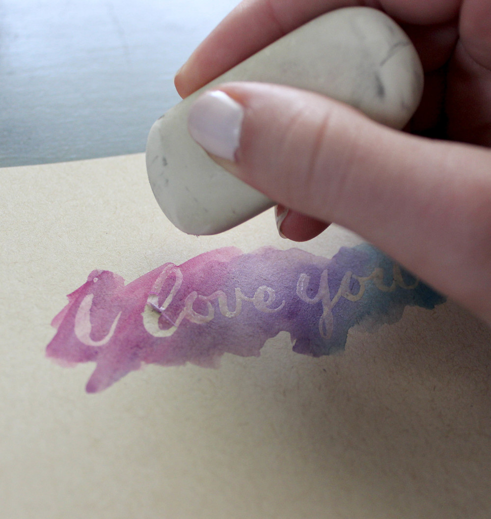 How To: Lettering with Masking Fluid — Ash Bush