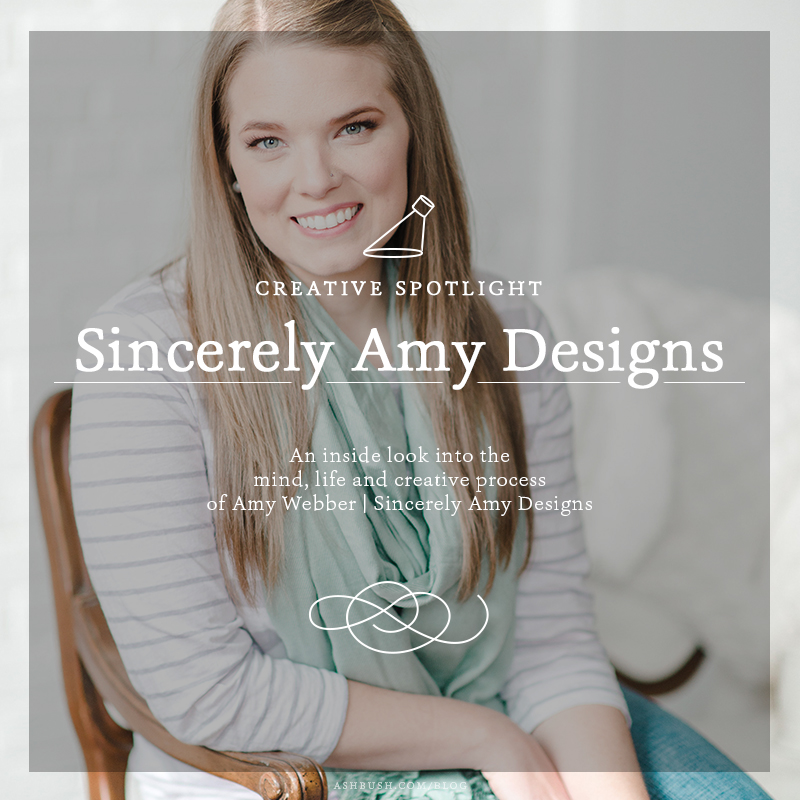 Creative Spotlight: Amy Webber of Sincerely Amy Designs