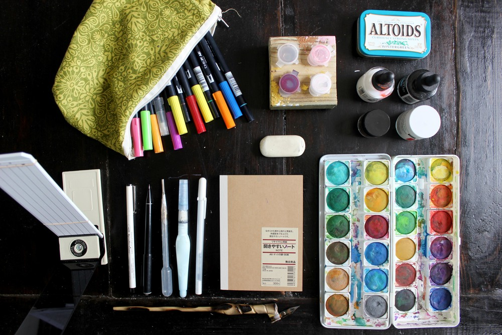 Ashley Bush Toolbox - Favorite Calligraphy & Lettering Supplies
