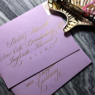 Creative Spotlight: Joi Hunt of Bien Fait Calligraphy