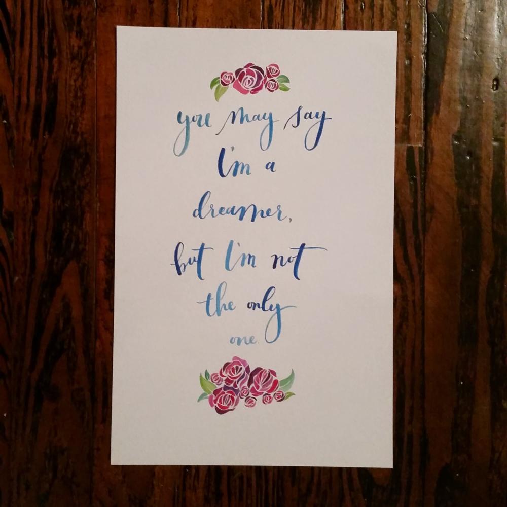 Ashley Bush: Studio Life Lately - Paper Goods + Signage