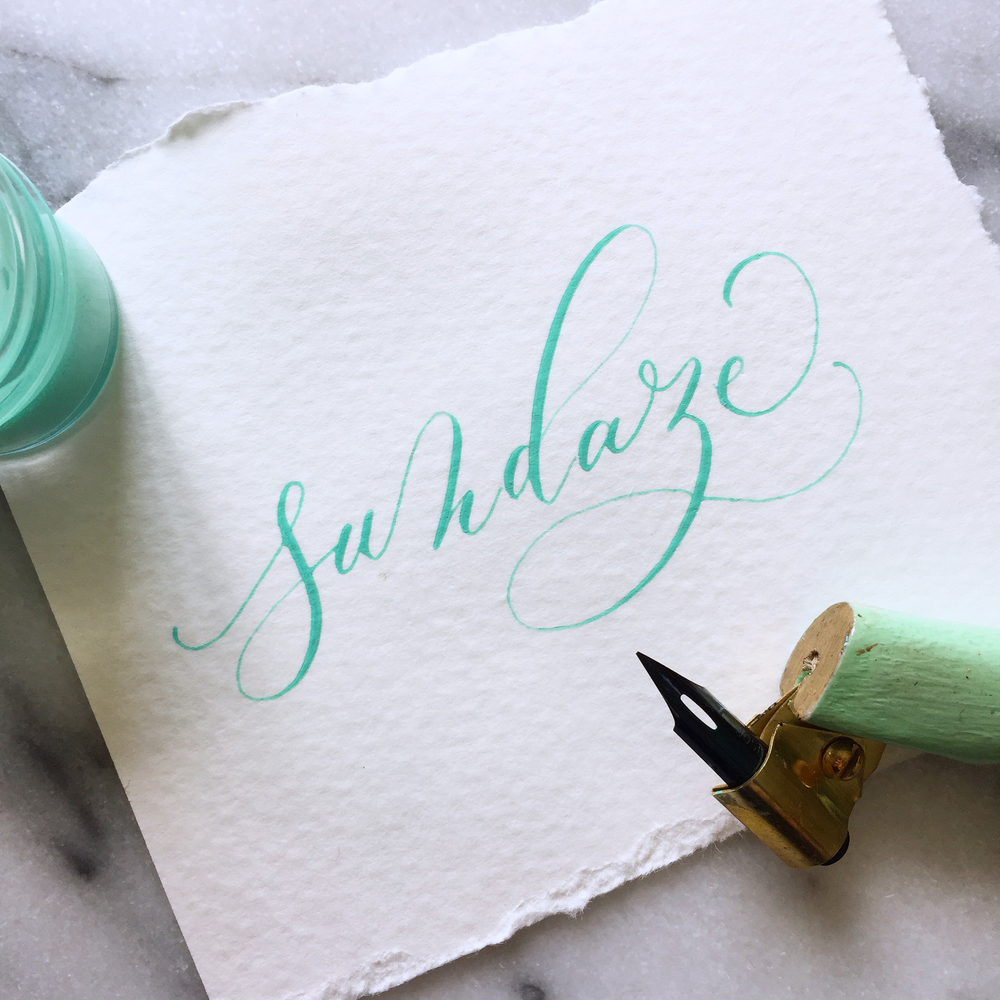 Creative Spotlight: Alyssa of Loveletterer on Ashley Bush Blog