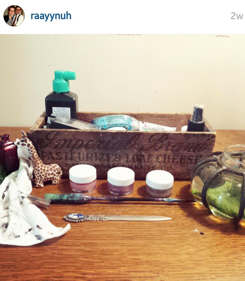 Utilizing Non-Calligraphy Items on Ashley Bush Blog