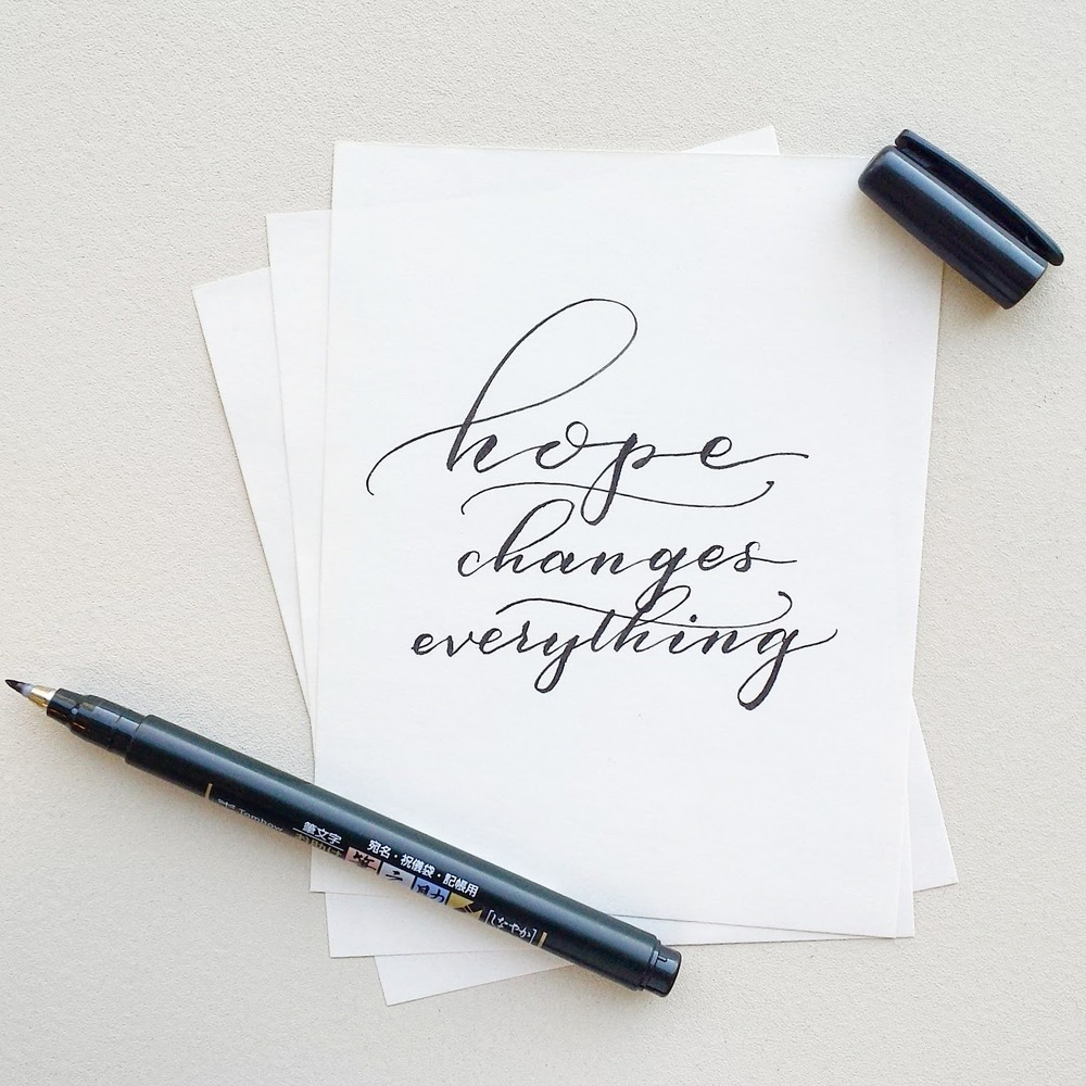 Creative Spotlight: Pieces Calligraphy on Ashley Bush Blog