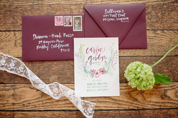 Ashley Bush Wedding Invitations