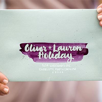 Masking Fluid Lettering: $3/envelope