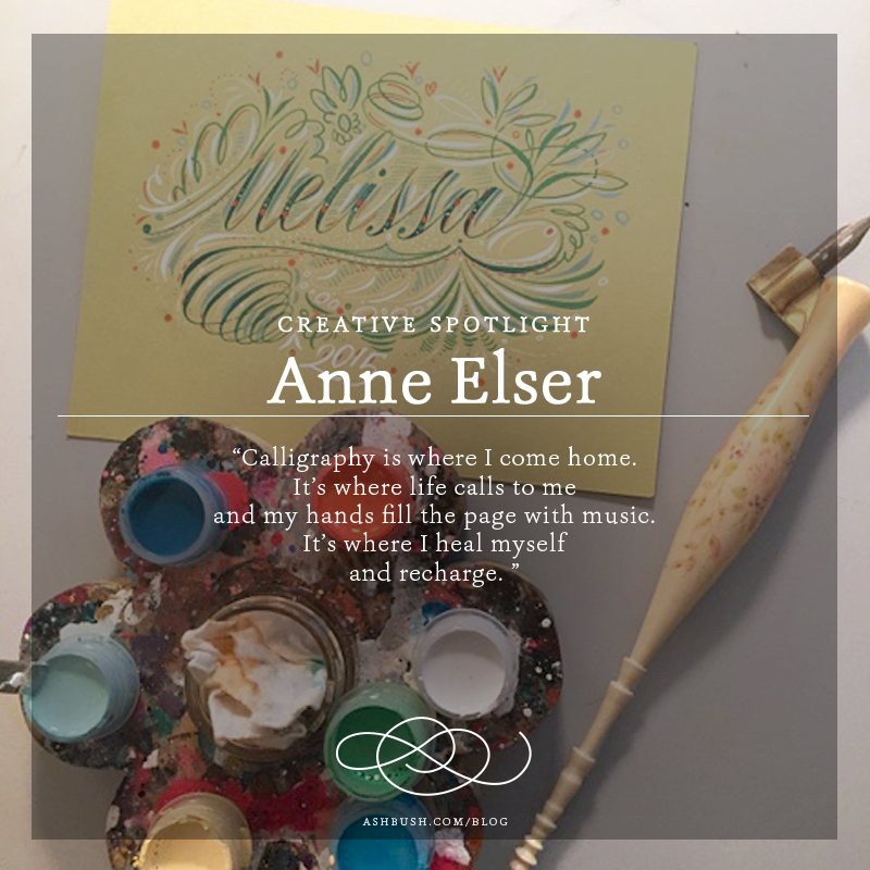 Creative Spotlight: Anne Elser on Ashley Bush Blog