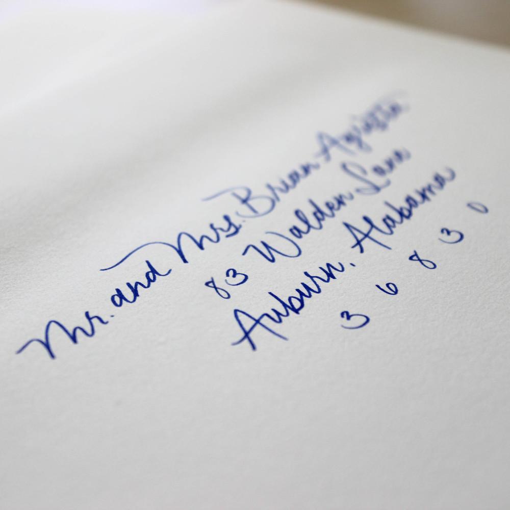 Pen Lettering: $1.50