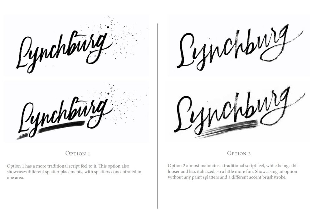 Ashley Bush's Hand-lettered Logo Design Process