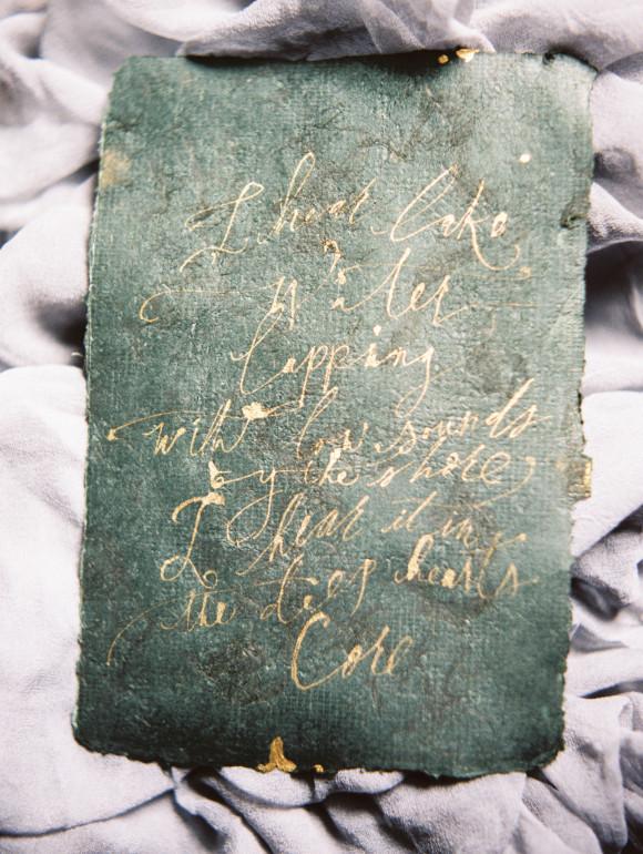 Tara Spencer's Calligraphy