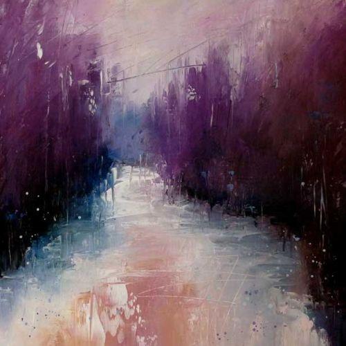 Erica Kirkpatrick's Abstract Landscape