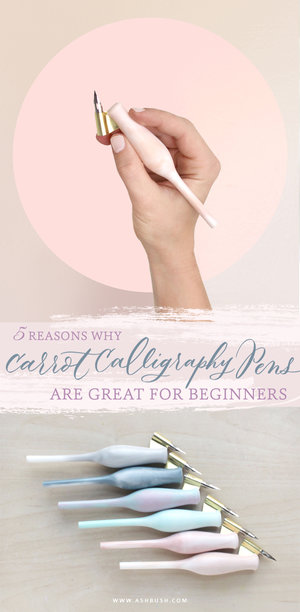5 Reasons Why Carrot Calligraphy Pens Are Great For Beginners Ash Bush
