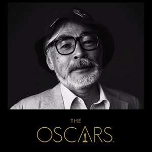 Governors Award tribute in honor of animation legend Hayao Miyazaki.