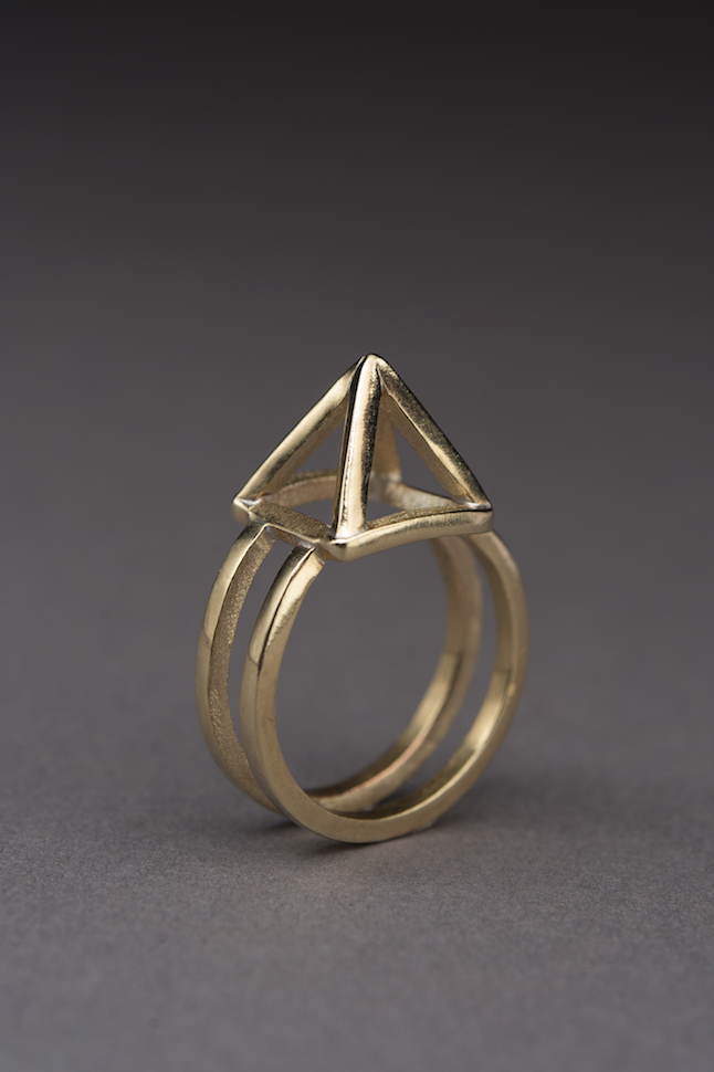 Pyramid Ring - Small