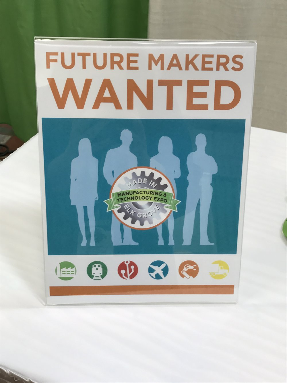 Elk Grove Expo Makers Wanted Sign.jpg