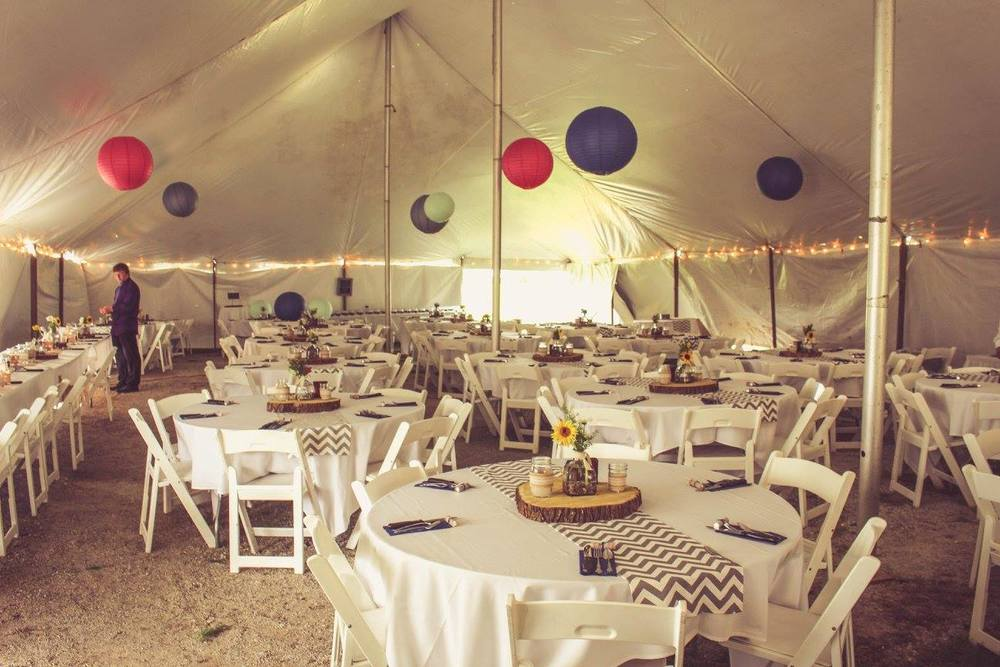 Yennygrams Wedding Tent