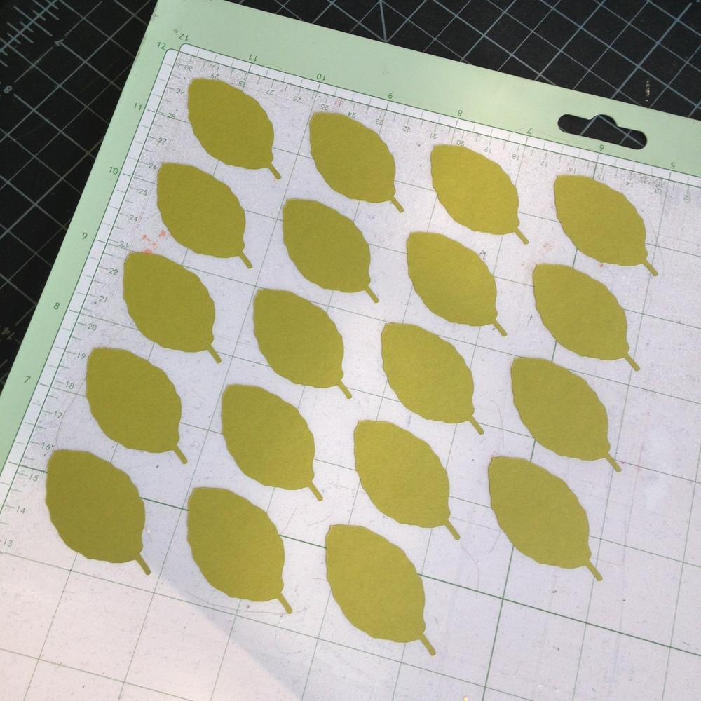 Yennygrams Cricut Leaves