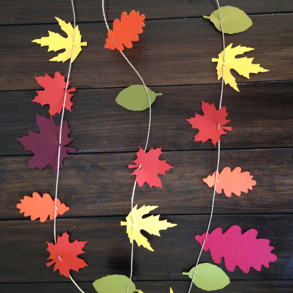 Yennygrams  Leaf Garland