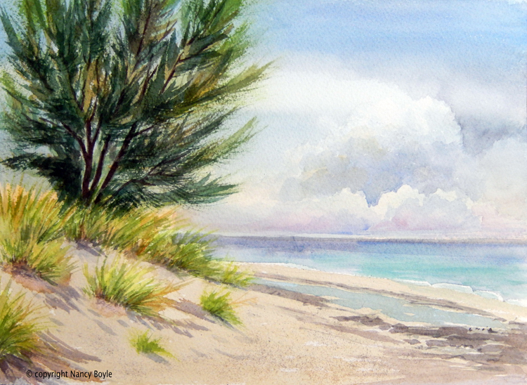 Manisota Key beach