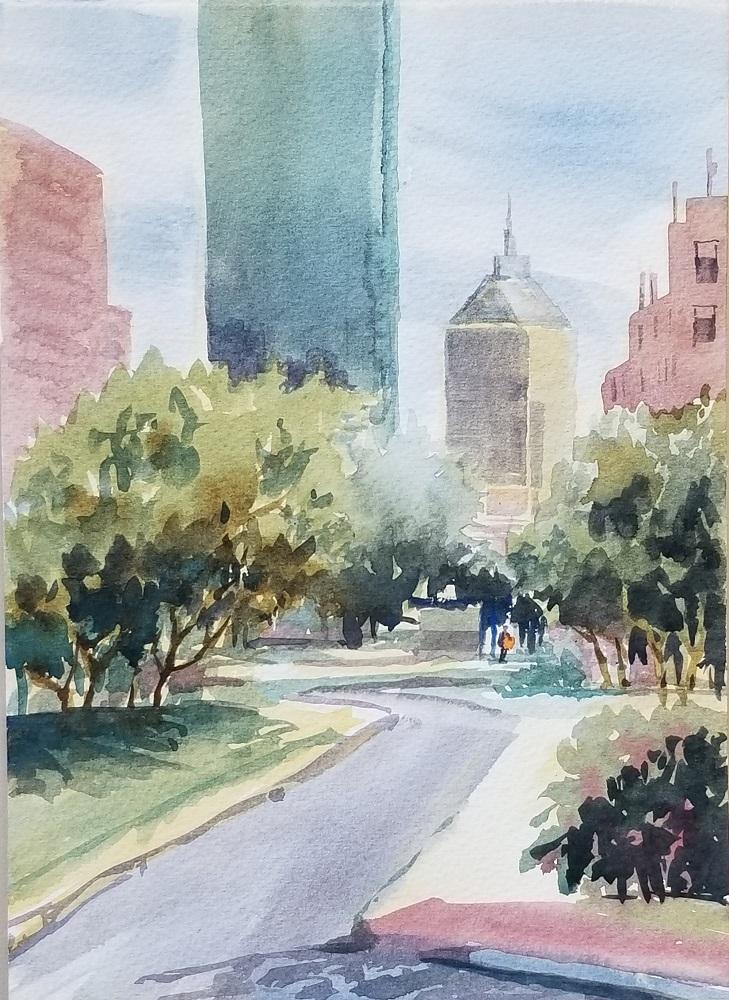 View of Boston 2