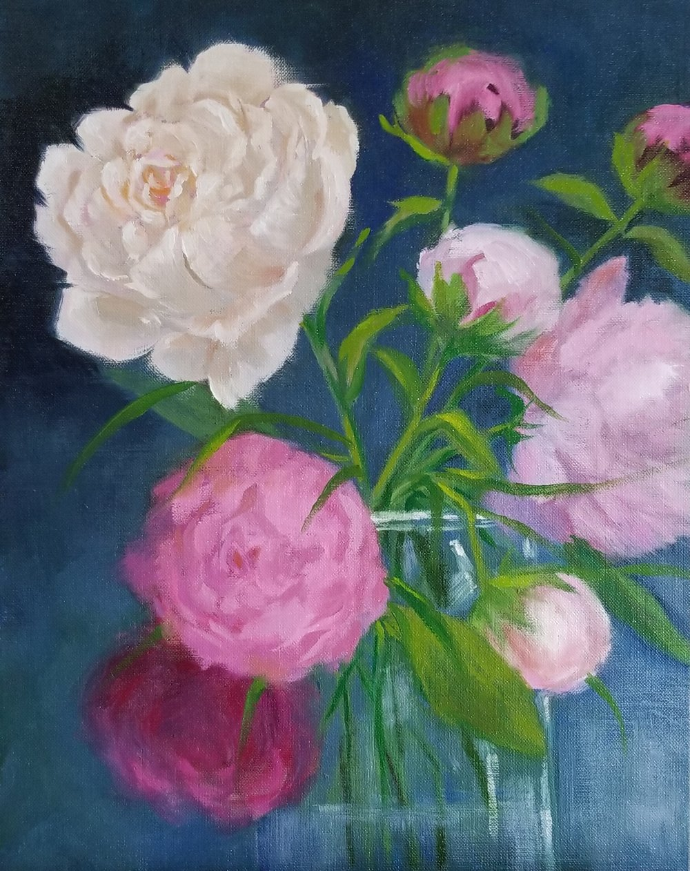 Peonies-oil on linen-14x11-Nancy Boyle.jpg