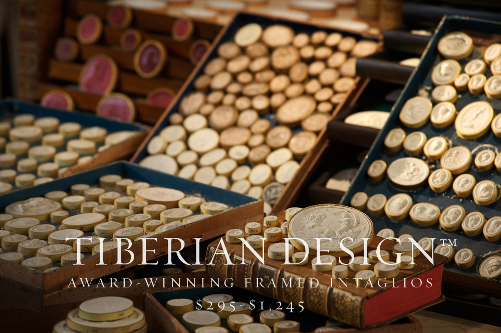 Tiberian's extensive collection of Rare 18th and 19th Century Museum Quality Intaglios.