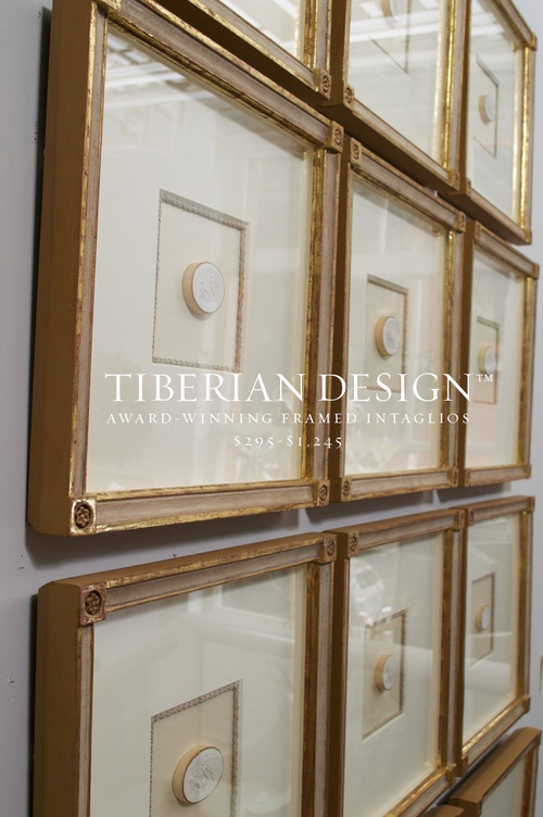 framed intaglios award winning tiberian collection ad top