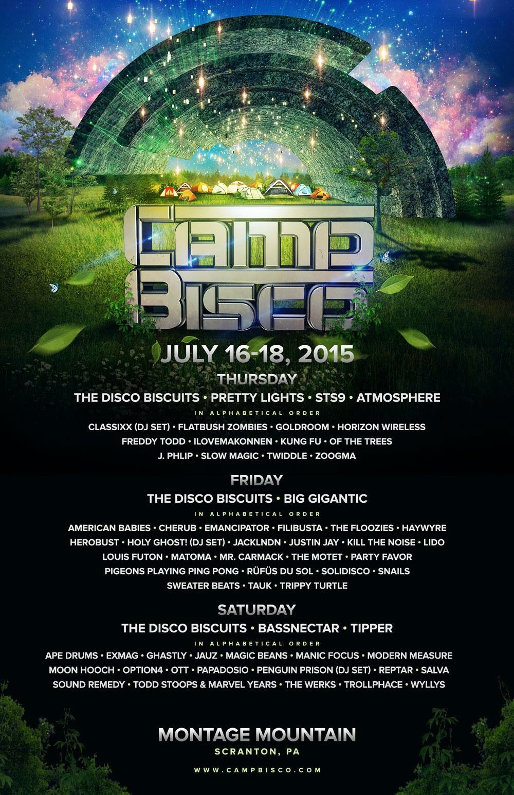 Camp Bisco 2015