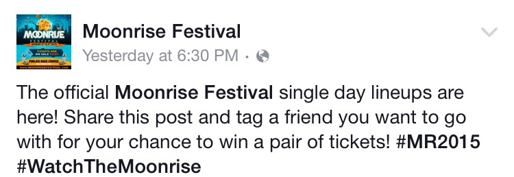 Moonrise Facebook Page