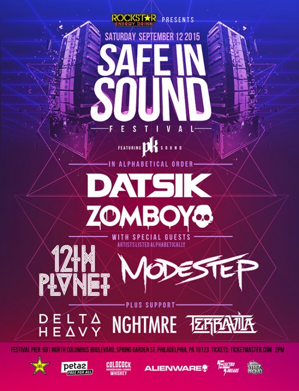 Safe In Sound Philly Lineup