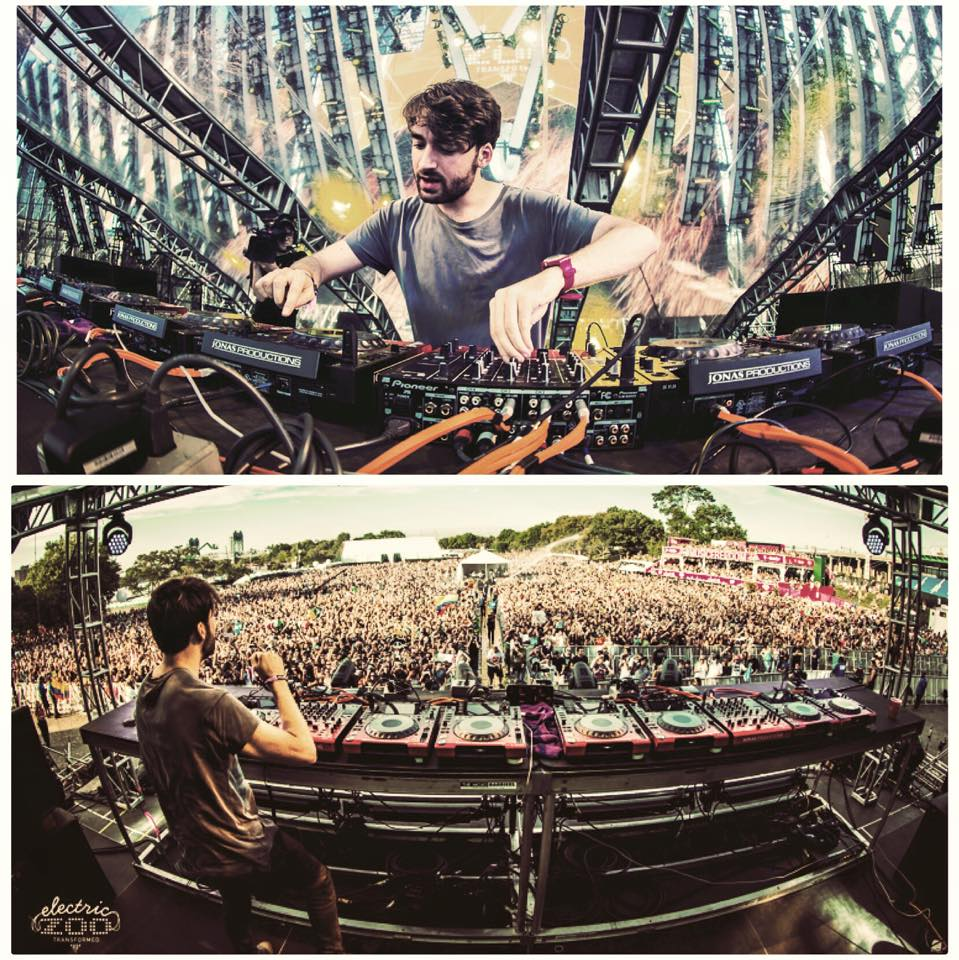 Oliver Heldens at Electric Zoo 2015