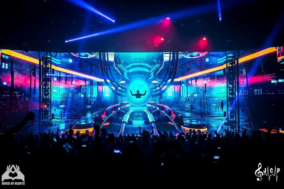 Zedd Visual Display