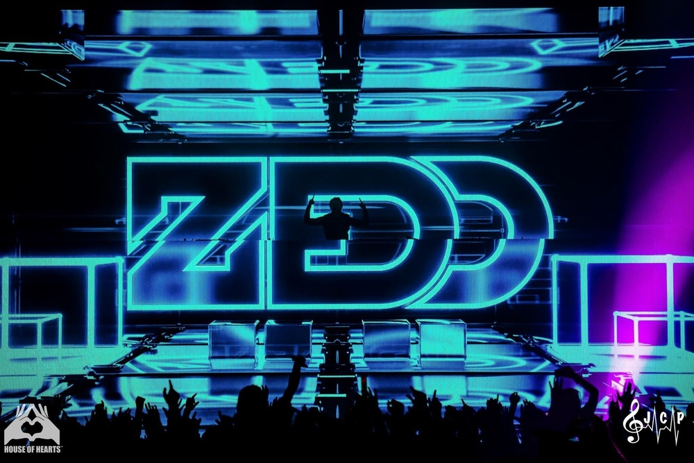 Zedd Engulfed By Digital Splendor