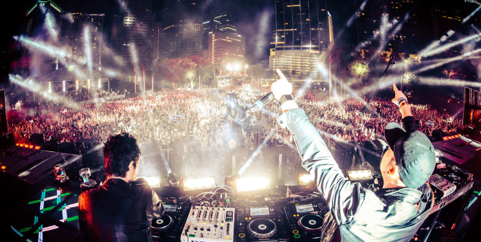 Knife Party at Creamfields UK 2015